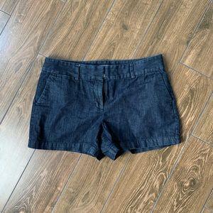 Loft denim chino shorts